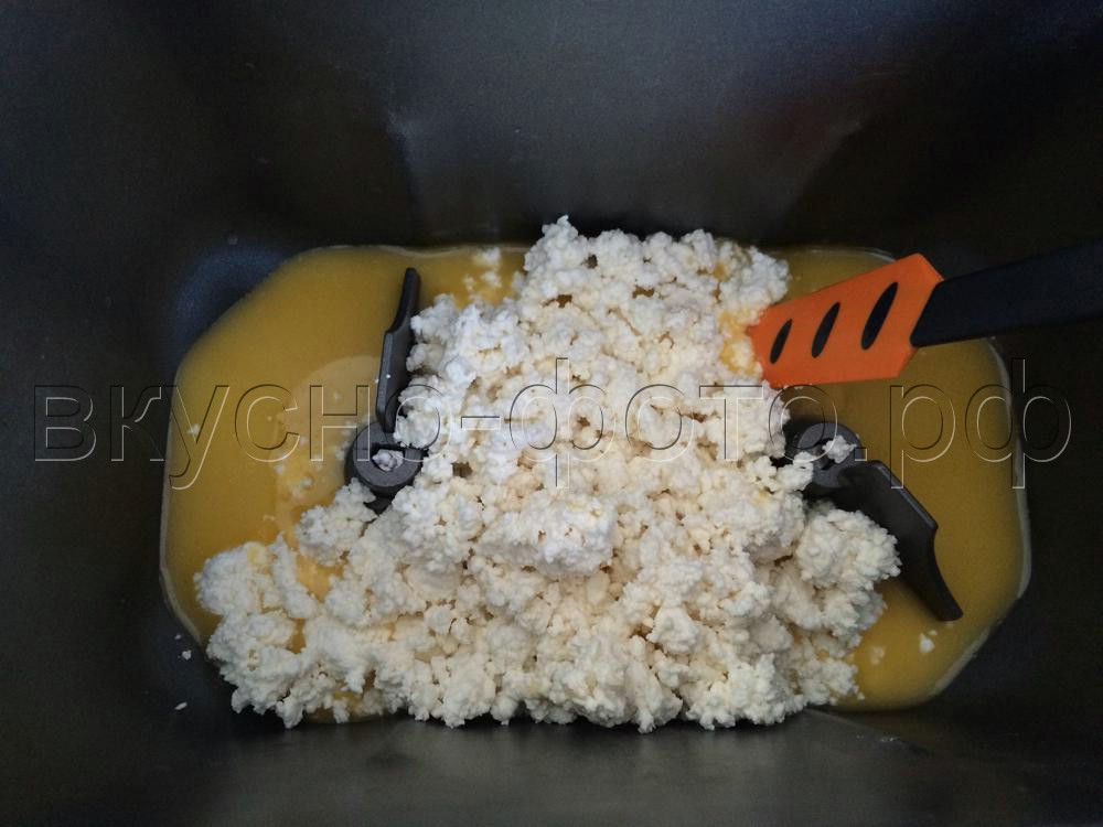 Творожный кекс в хлебопечке VITEK VT-1991 ST
