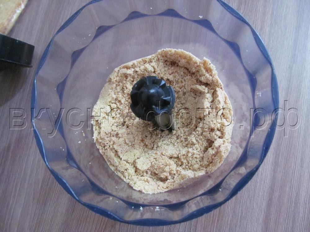 Домашние конфеты из творога и печенья