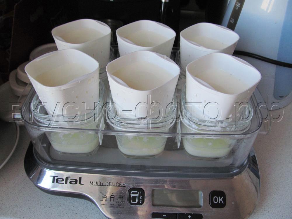 Домашний творог в йогуртнице