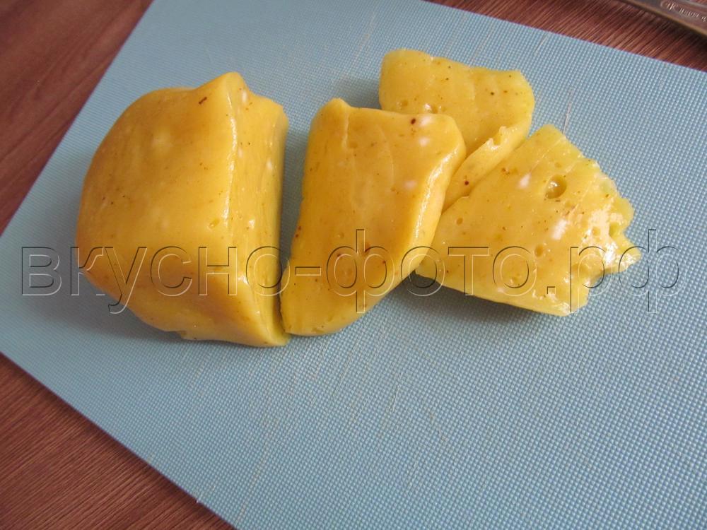 Домашний плавленый сыр с карри