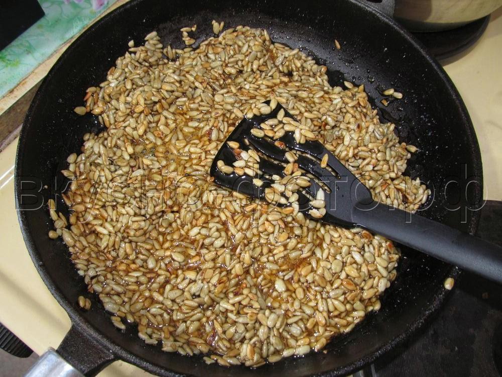 Домашние козинаки из подсолнечных семечек