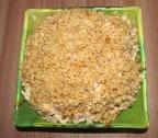 Салат с кальмарами грибами и орехами