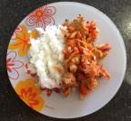 Индейка с овощами в аэрогриле REDMOND RAG-240