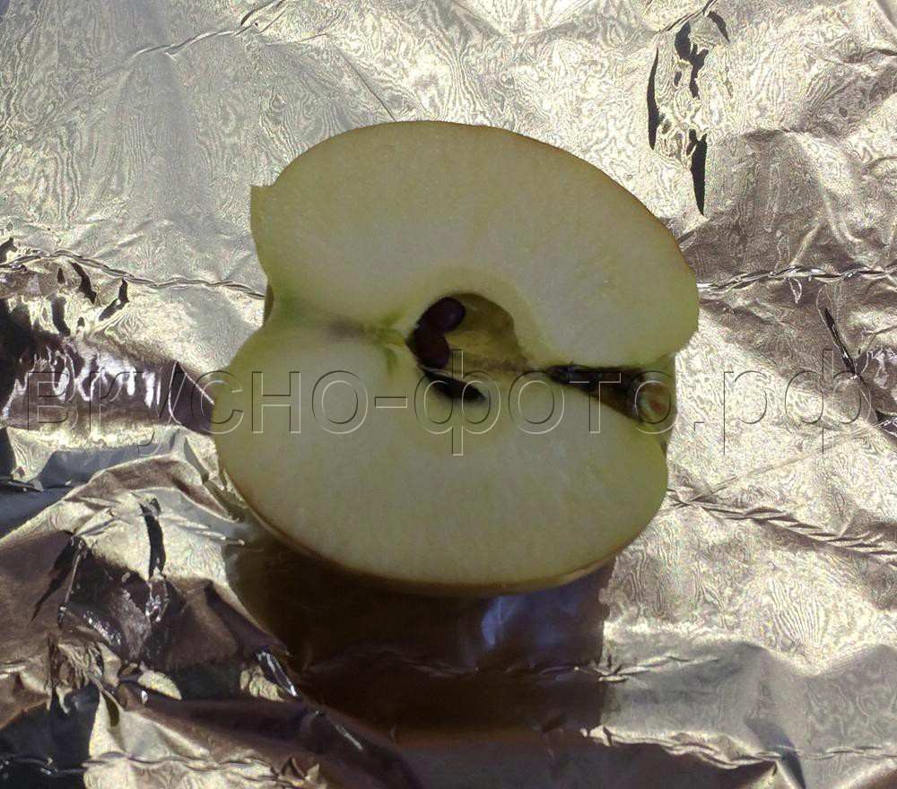 Смузи из банана и запеченного яблока